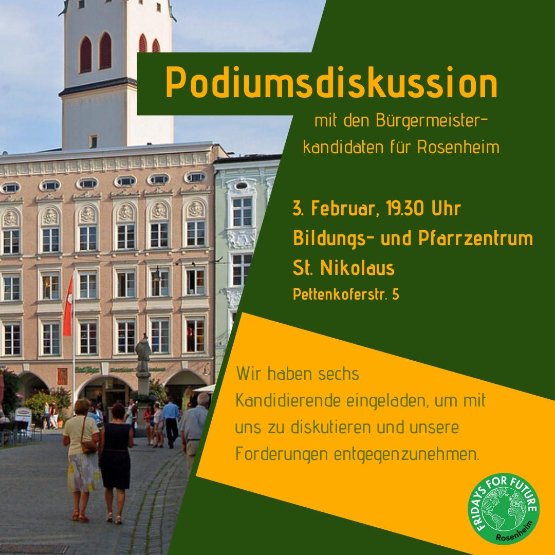 3.2.2020 Podiumsdiskussion!
