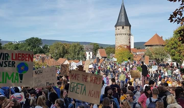 Klimastreik Demo 20.09.2019 Bad Homburg